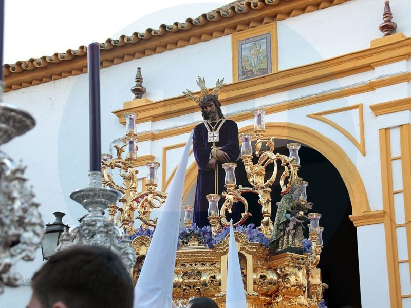 Jesús Cautivo Saliendo de San Sebastián