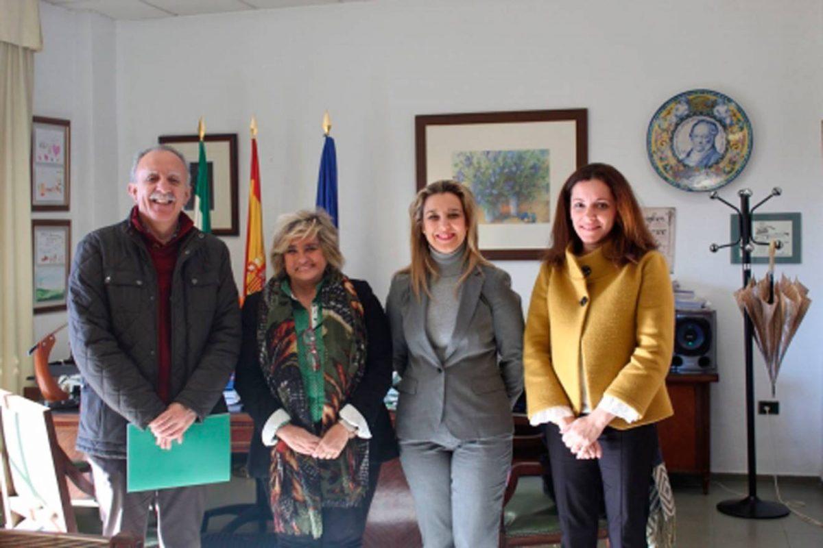 La delegada de Educación, Ángeles Ballesteros /LVA