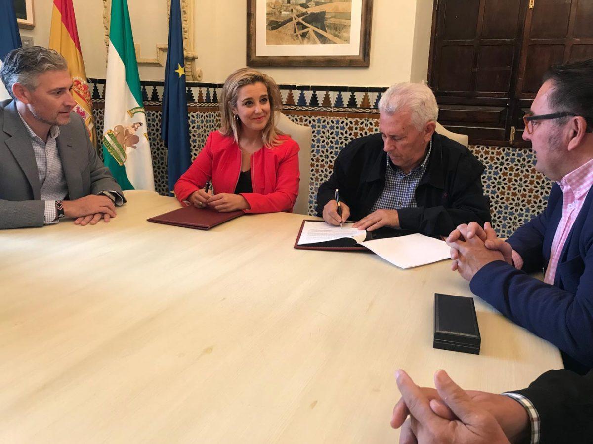 Firma del convenio /Ayto. Alcalá