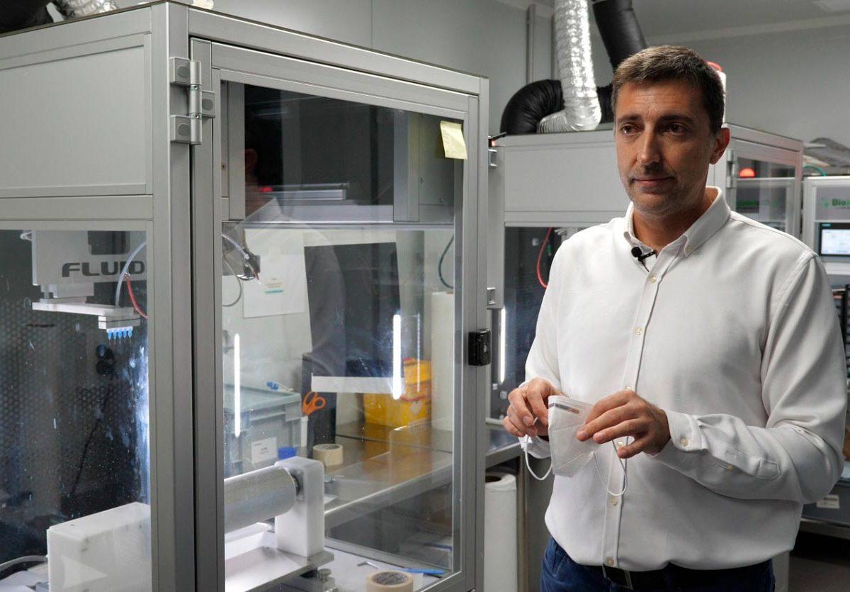 El investigador del CSIC y fundador de Bioinicia, José María Lagarón. SA