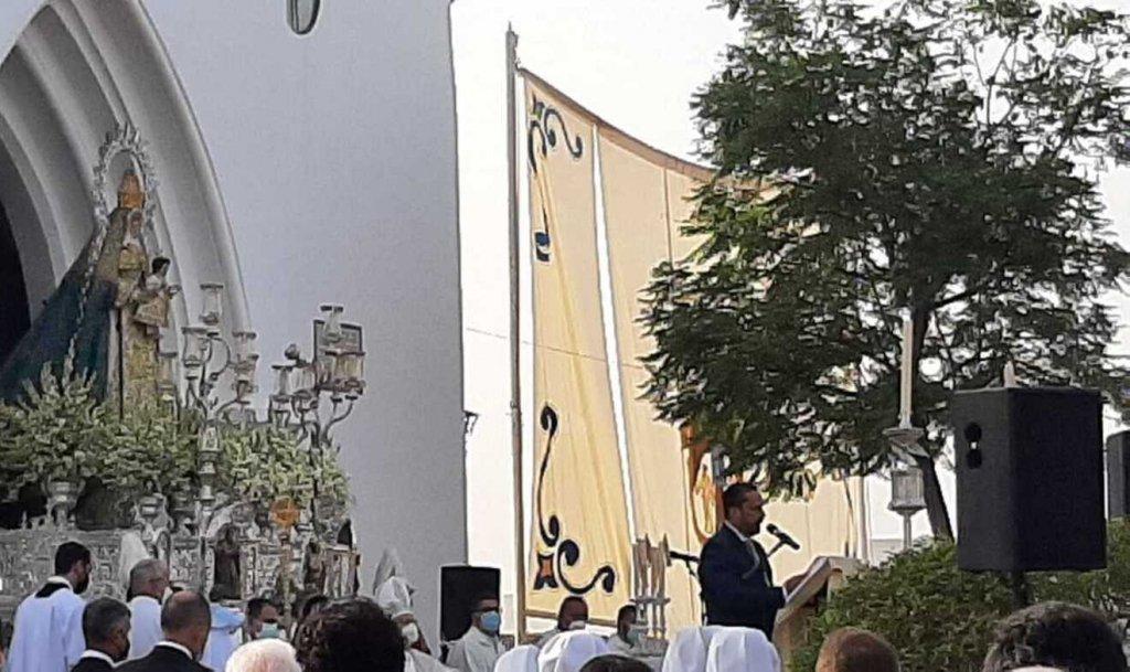 Anuncio del nuevo pregonero de la Semana Santa de Alcalá / José María Marquez