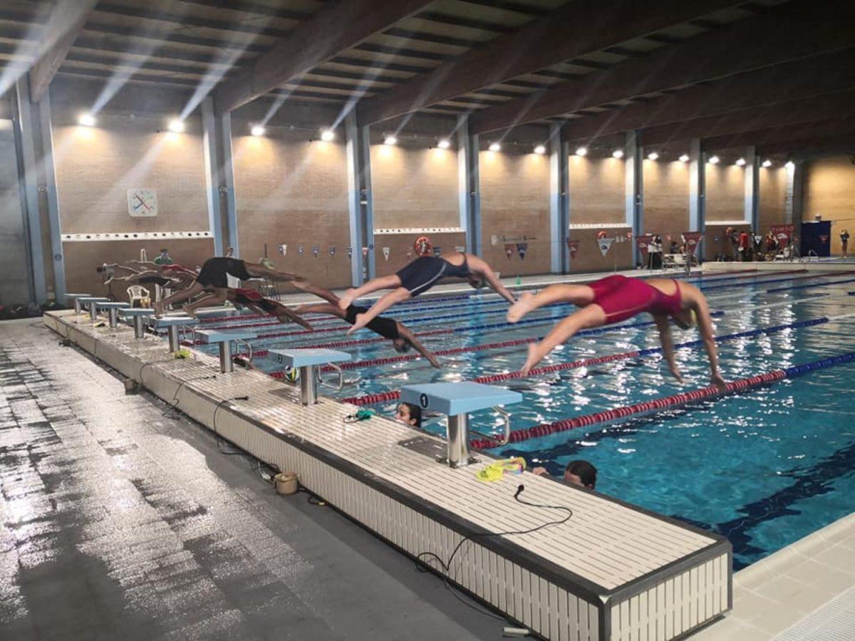 Temporada provincial de natación en Alcalá / Ayto.